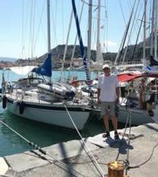 Vi har lagt till i Zakynthos hamn
