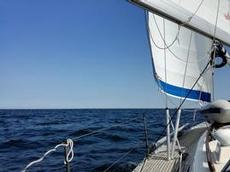 Havet är blått i Östersjön också