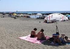 Varmt och skönt på stranden