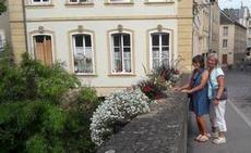 En promenad över broarna i fina Metz