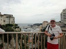 Utsikt över Hamnen i Monaco