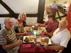 Middag i Chalon-sur-Saone