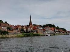 Vi kommer till Lauenburg vid Elbe
