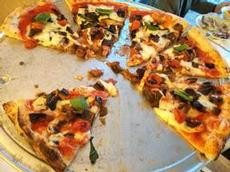 Maxi-pizza för två