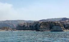 Vi passerar Tropea på väg mot Vibo Marina