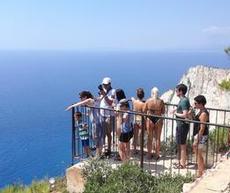 Turister på hög höjd