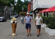 På jakt efter glass i Minden