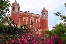 Imponerande slott i Santa Maria di Leuca