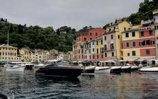 Trångt i Portofino