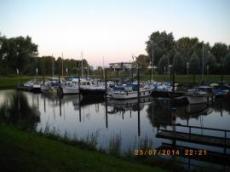 båtklubb vid Hedel