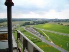 Utsikt från hissen