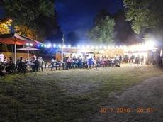 Hamnfest i Cruas