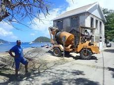 Större cementblandare à la Les Saintes