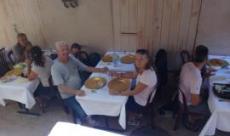 Lunch i en gränd
