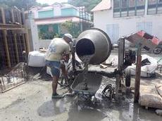 Nästa kärra betong görs klar