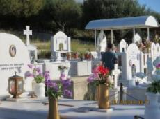 Kyrkogård på Kalamos