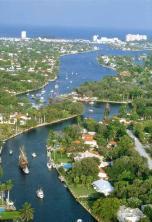 Fort Lauderdale från ovan