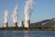 Kärnkraftverk.