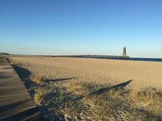 Leucate beach.