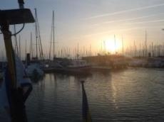 La Rochelle, gigantisk hamn med tusentals båtar
