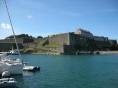 Hamnbassängen på Belle-Ile