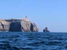 Äntligen framme vid Cabo Vicente