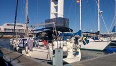 S/Y Maron i hamnen Coruna