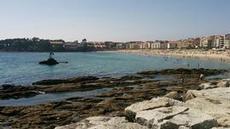 Stranden i Sanxenxo