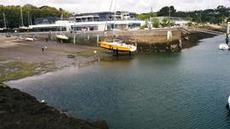 Båtservice i lågvatten