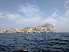 Vi rundade Europe Point på Gibralltar