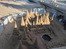 Ett fantastiskt sandslott