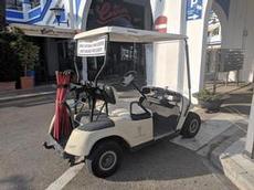 Bilfärd till receptionen i Estepona