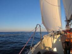 Skönt att segla igen