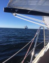 Lämnar Karlskrona möte med stena line