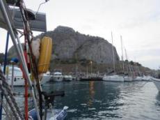 Hamnen i Cefalu