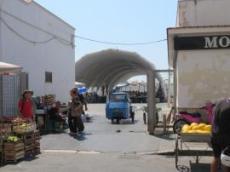 Fiskmarknad och grönsaksmarknad