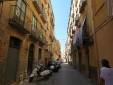 Typisk italiensk gata
