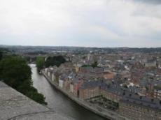 Här möts floderna La Meuse och La Sambre