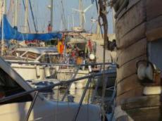 Ofelia i hamnen av La Caletta