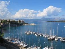 Ofelia på Mandraki Corfu Sailing Club