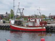 Fiskebåt i Byxelkrok