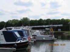 Ofelia ligger på Mindener Yacht-club
