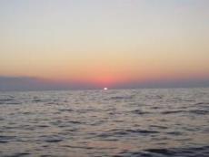 Soluppgång dag 2 kl 06.30