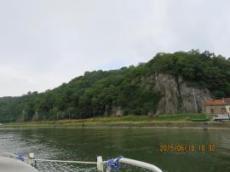 Vy efter floden La- Meuse