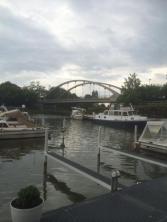 Ofelia ligger på marina yachthafen Hannover