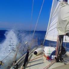 Fin segling i från Lefkas till Preveza