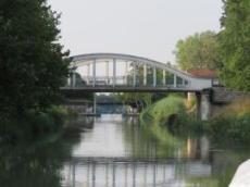 Sista Slussen i Canal entré Champagne