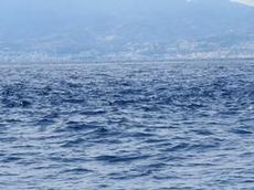 Kraftig motström i Messinasundet