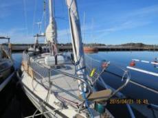 Ofelia förbered snart seglar hon mot varmare breddgrader