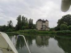 Fint hus vid Chalons sur Seône